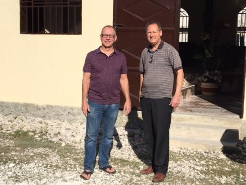 Dr. Bruce Snavely and Dr. Bill Smith - Haiti 12.17
