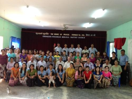 Ebenezer Baptist group 2013