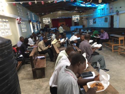 Lunchtime for Haiti Class