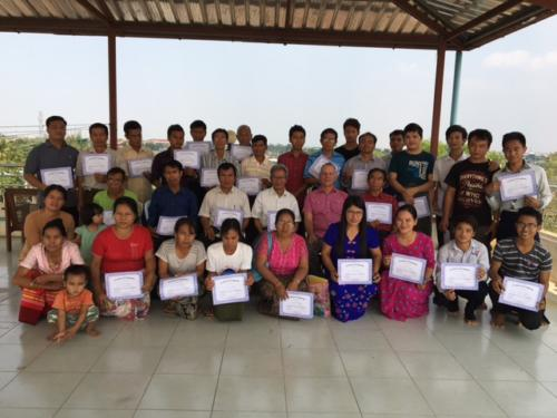 Myanmar Graduates 2017