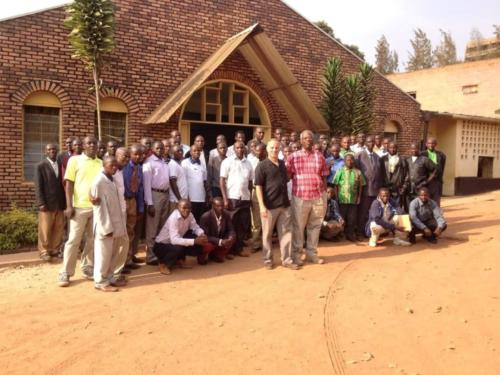 Rwanda Class July 2013
