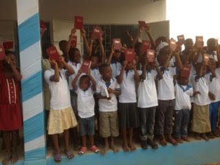 Togo Orphans with Bibles